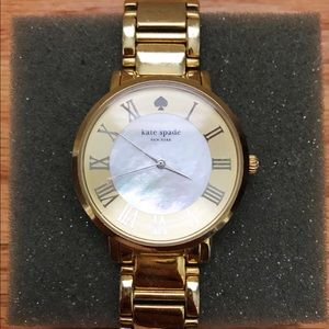 Kate Spade Gold and Pearl Watch